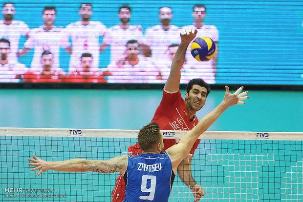 Italy beats Iran 3-0 at FIVB League