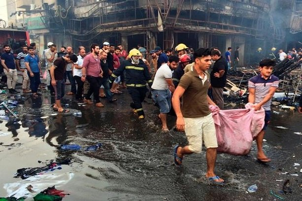 VIDEO: At least 80 killed in two Baghdad blasts