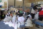 توزیع بیش از ۳ هزار سبد غذایی بین مددجویان کمیته امداد شادگان