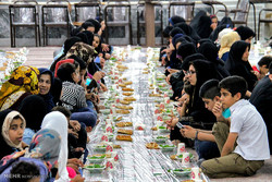 Iftar banquet for orphans of Relief Foundation