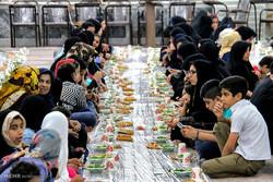 مراسم ضیافت افطاری ایتام کمیته امداد استان گلستان