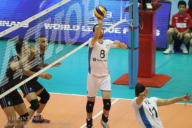 Iran beats Argentina at FIVB World League