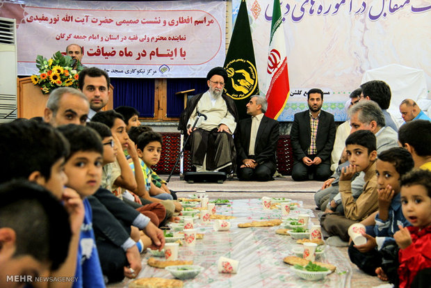 Iftar banquet for orphans of Relief Committee