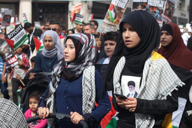 مسيرات يوم القدس في لندن