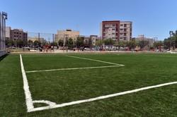 پارک باهنر بوشهر به زمین چمن مصنوعی و مجموعه بازی مجهز شد