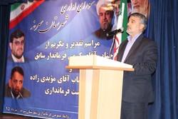 آئین معارفه فرماندار جدید شهرستان سرخه برگزار شد
