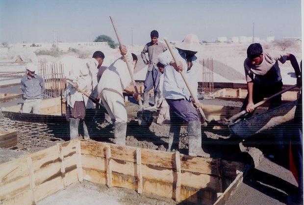 کارگران ساختمانی