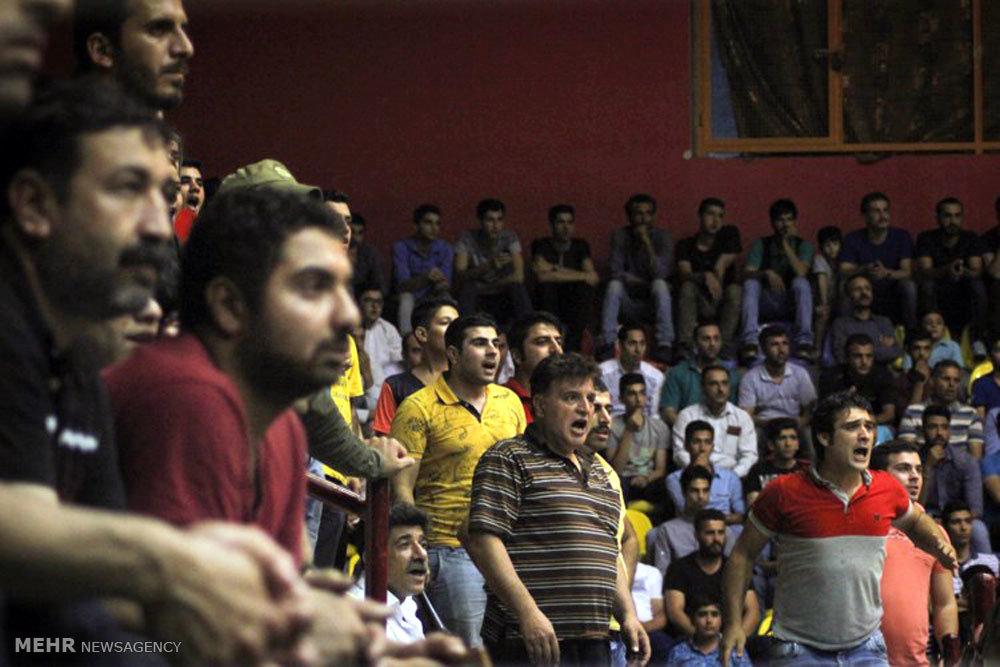 مسابقات والیبال جام رمضان در گرگان