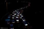 ترافیک سنگین در لاین شمالی و جنوبی آزادراه کرج