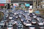 ترافیک در محور کرج - چالوس نیمه سنگین است
