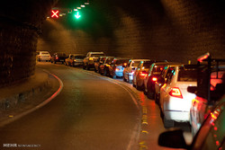 ترافیک سنگین در محدوده مشاء و پیست آبعلی