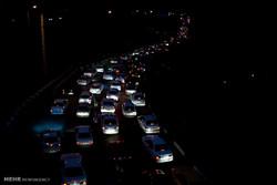 ترافیک سنگین در مسیر رفت و برگشت فشم