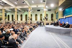 İnkılap Rehberi, devet erkanı ve İslam ülkeleri temsilcileriyle görüştü