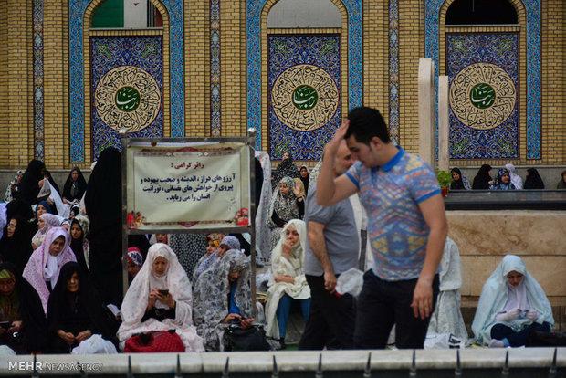 Eid al-Fitr prayers in Tehran