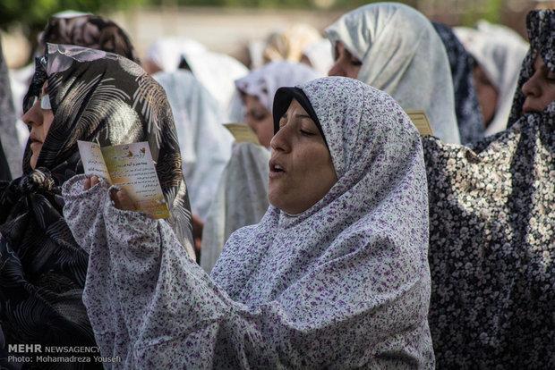 Eid al-Fitr prayers in Qazvin