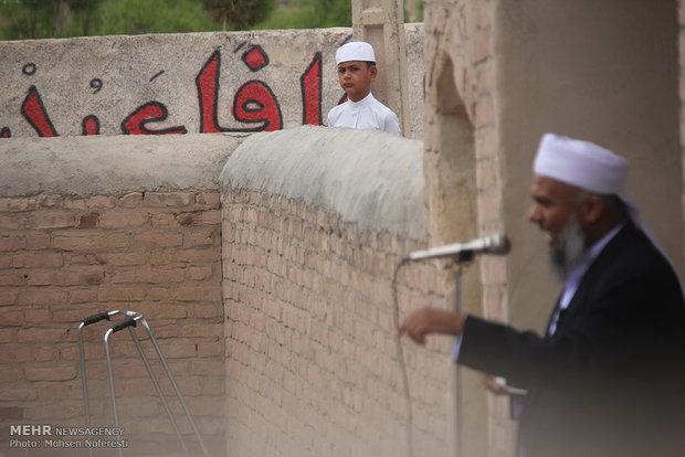 Eid al-Fitr prayers in Birjand