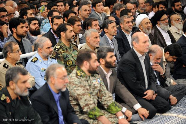 Authorities, ambassadors meet with Leader
