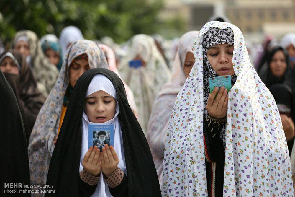اقامه نماز عید سعید فطر-1
