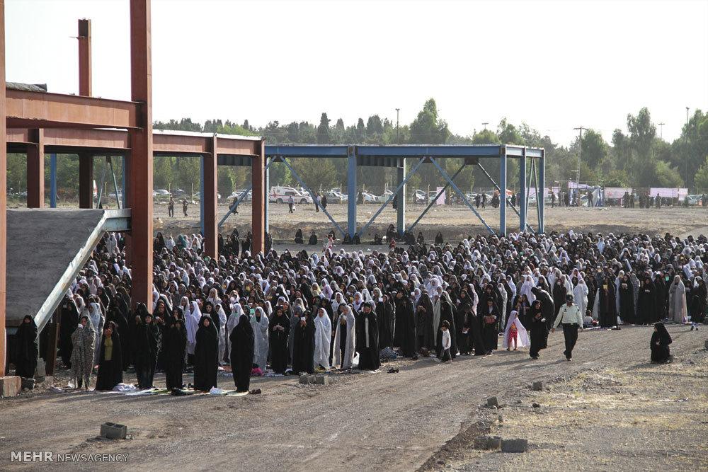 اقامه نماز عید سعید فطر در سیرجان