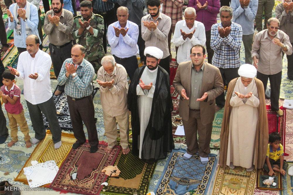 اقامه نماز عید سعید فطر در میناب