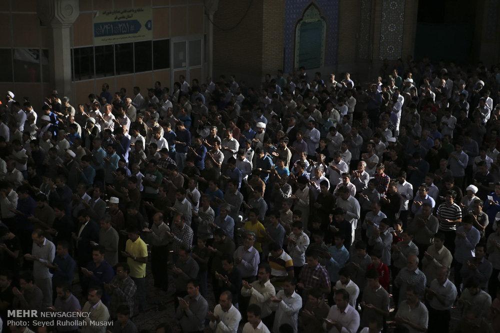 اقامه نماز عید سعید فطر در همدان و قزوین و قم
