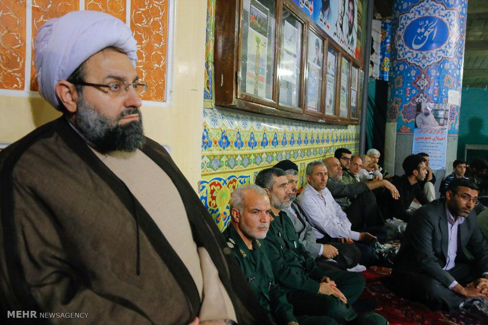 بیست و یکمین یادواره شهدای هشت سال جنگ تحمیلی بسیج مهرانشهر