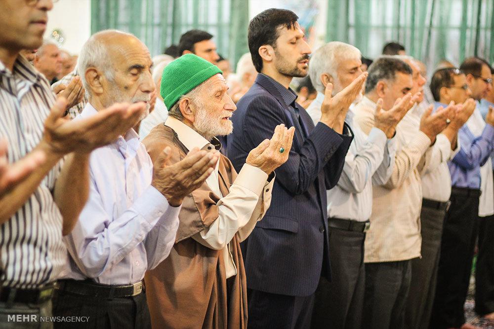 اقامه نماز عید سعید فطر در شهرک شهداء گرگان