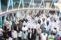 نماز عید فطر در مرکز اسلامی هامبورگ