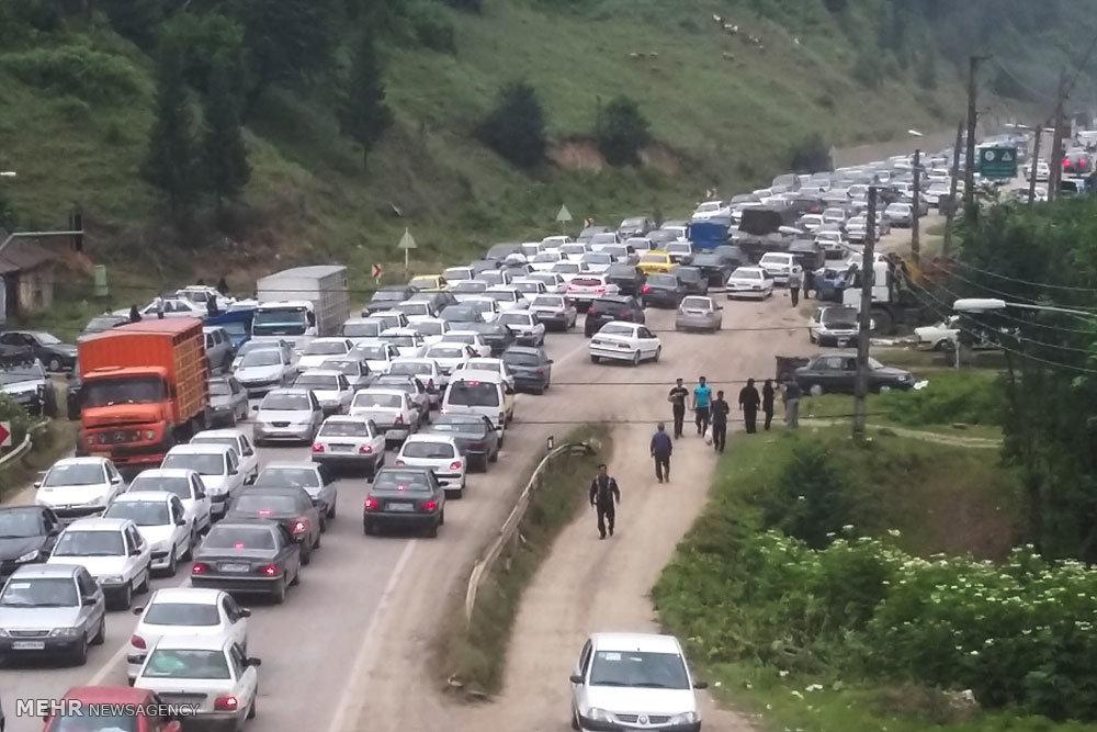 ترافیک در محور سوادکوه