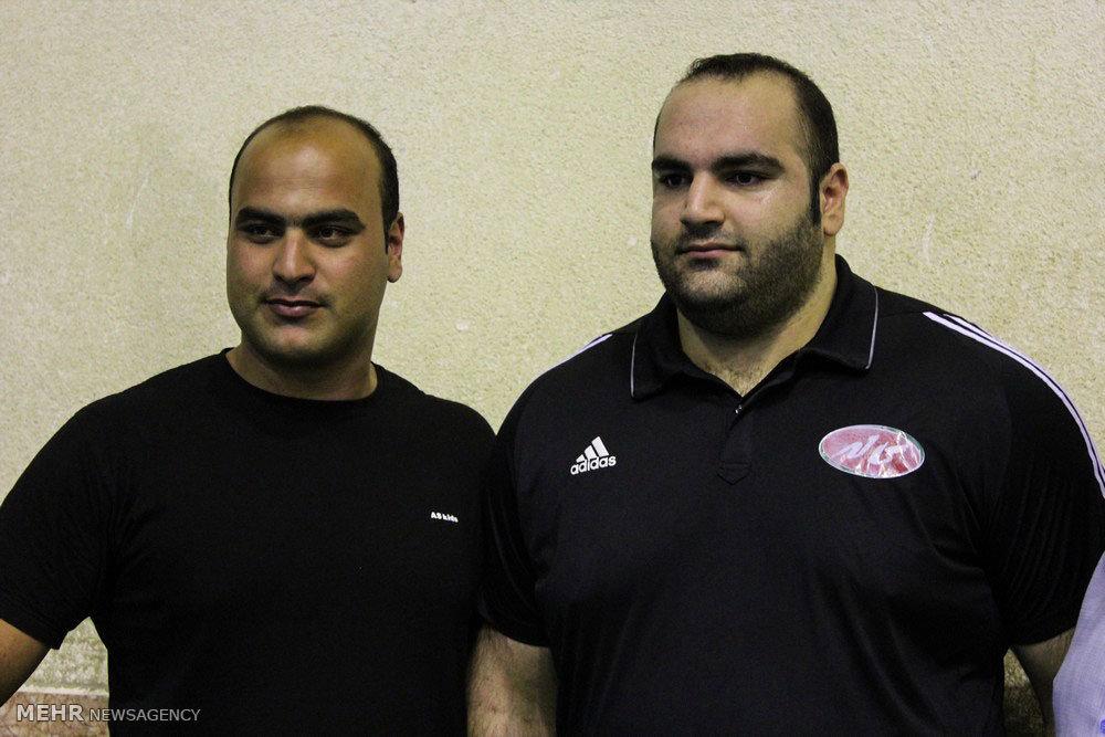 رکوردگیری تیم ملی وزنه برداری المپیک
