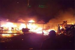 """صور من الهجوم الارهابي على مرقد """"سيد محمد"""" شمال بغداد"""