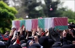 پیکر مطهر شهید آباریان در جیرفت تشییع شد