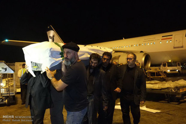 Kiarostami's body flown back to home for funeral
