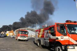 مهار آتشسوزی در پالایشگاه نفت آبادان/ حادثه خسارت نداشته است