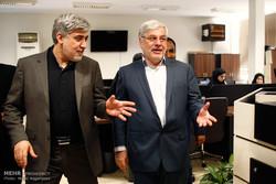 رئيس هيئة الضمان الاجتماعي يتفقد مقر وكالة مهر للأنباء
