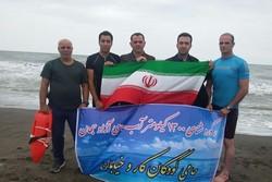 Epic journey across Caspian Sea to break world record
