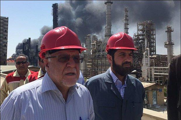 """وزير النفط : مجمع """"بوعلي سينا""""  للبتروكيمياويات سيستأنف نشاطه قريبا"""