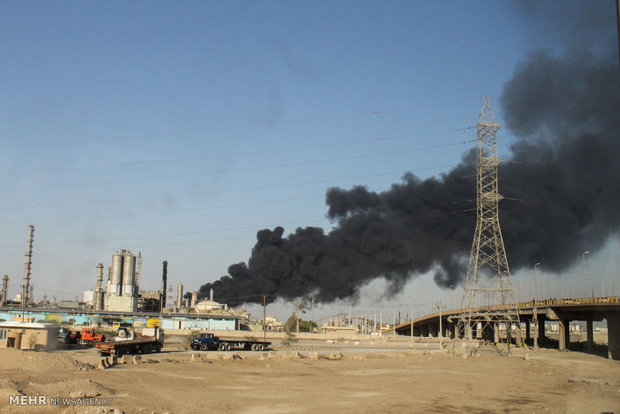 Fire at Bou Ali Sina Petrochemical Complex contained
