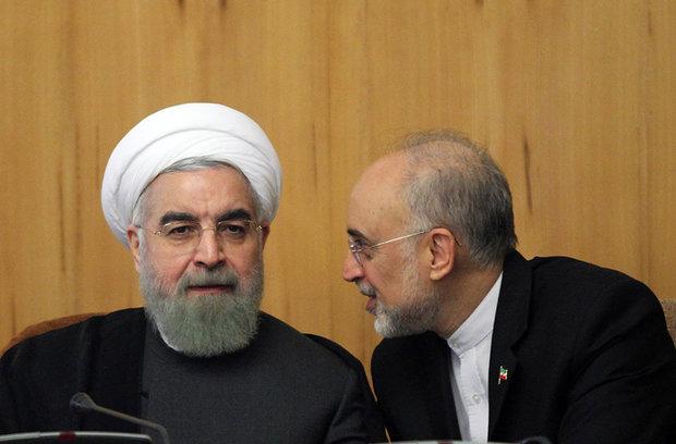 Pres. Rouhani reinstates Salehi as VP, AEOI head