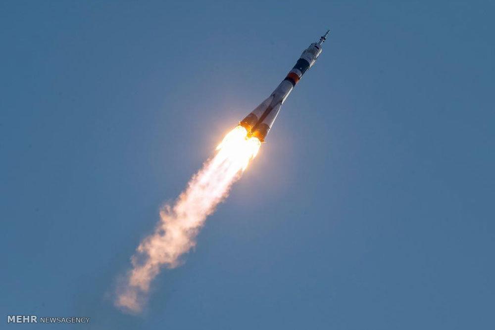 پرتاب فضاپیمای سایوز
