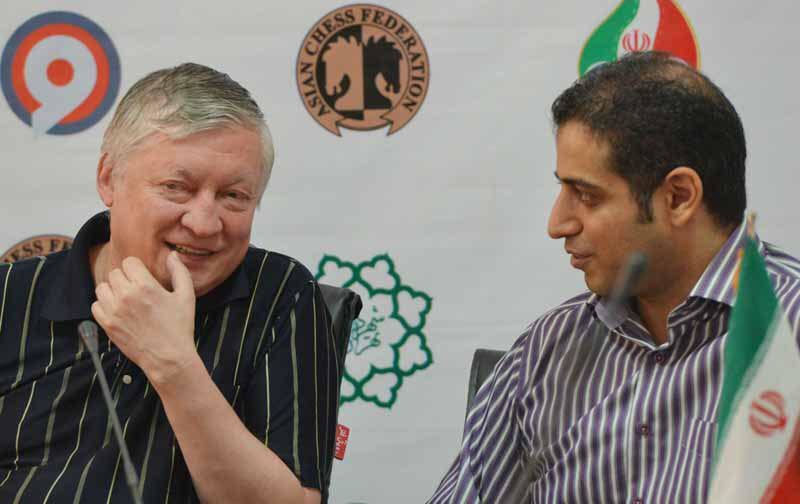 Chess is very popular among the Iranians, Anatoly Karpov says