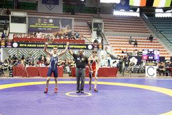 More medals for Iranian wrestlers at Asian Cadet C'ship