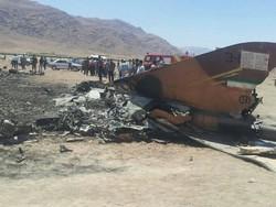 Fars Eyaleti'nde Soho-24 tipi savaş uçağı düştü