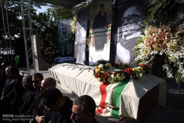 تشییع پیکر زنده یاد مرحوم عباس کیارستمی