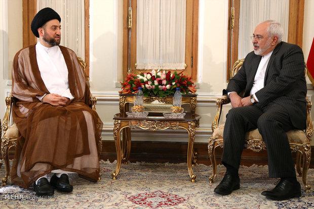 ظريف : سنقف الى جانب الحكومة والشعب العراقي حتى هزيمة الارهابيين