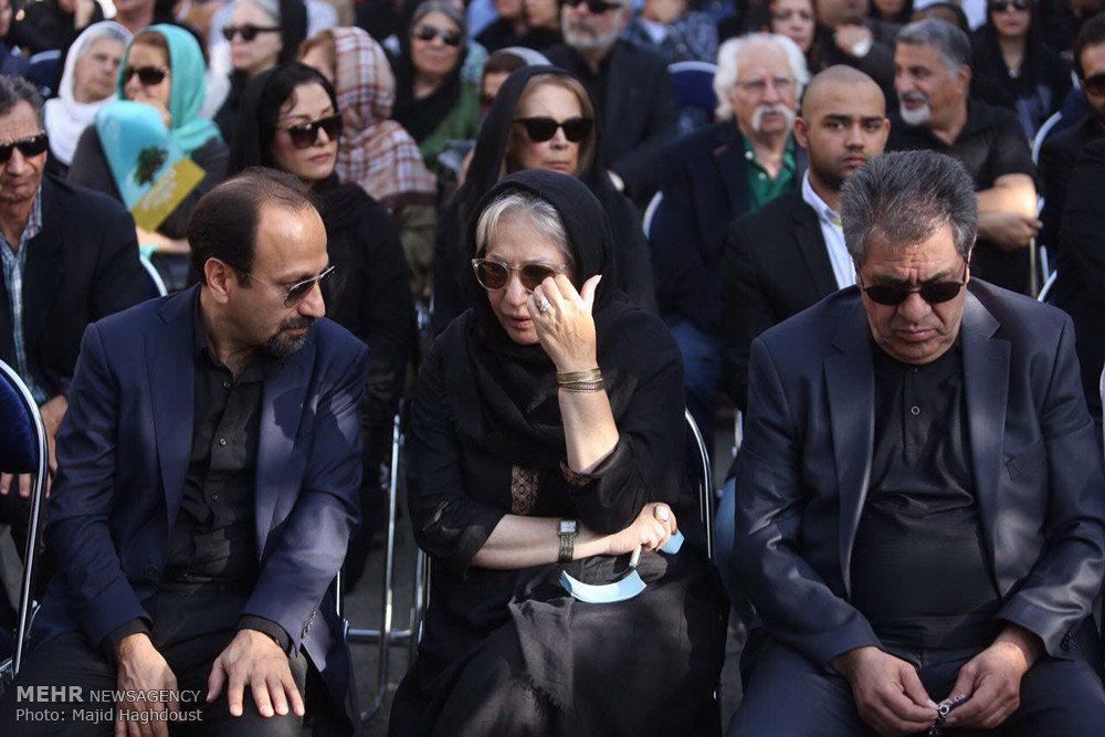 تشییع پیکر زنده یاد عباس کیارستمی