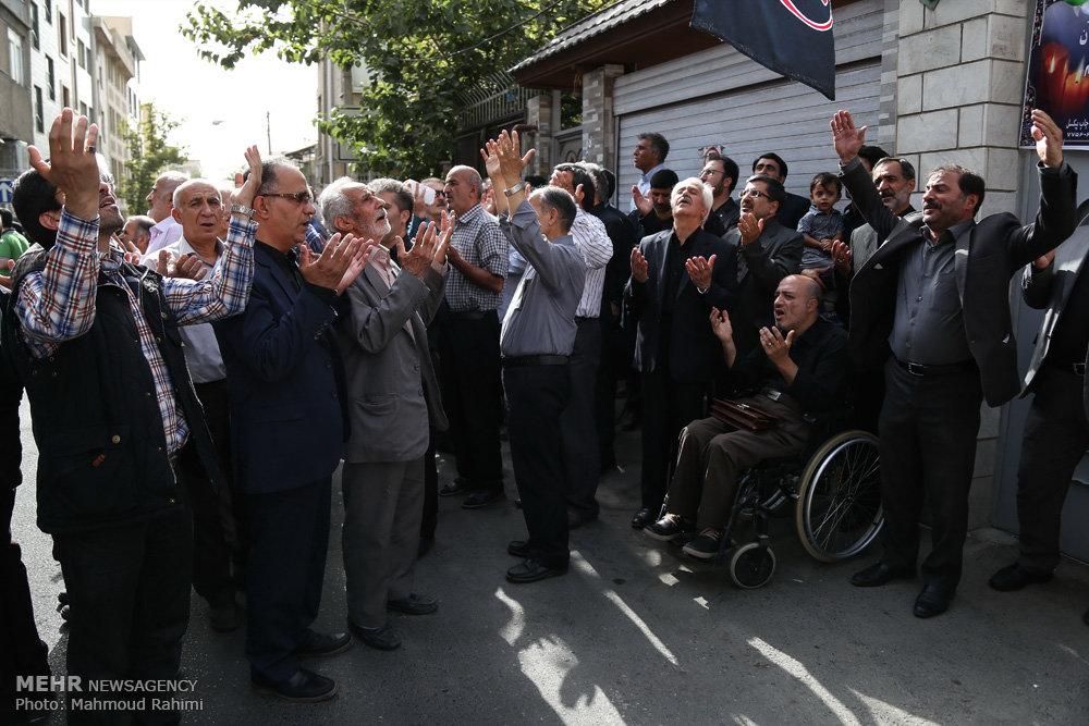 مجلس ترحیم مادر شهید مفقودالاثرحسن پوری محمد