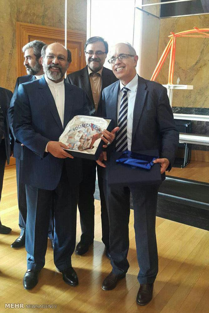 گشایش دفتر دانشگاه آزاد اسلامی در شهر میلان