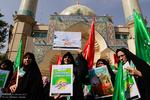 اجتماع 12000 نفری عفاف و حجاب بسیج وزارتخانه ها در میدان فلسطین