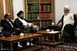 سفر رئیس مجلس اعلای اسلامی عراق به قم